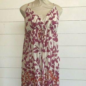 Old Navy Women's Floral Maxi Bohemian dress L